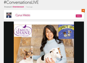 Author & Founder of Emily Shane Foundation, Ellen Shane Speaks with Conversations LIVE's Cyrus Webb
