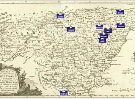Scottish Clan Maps