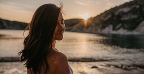 Lulworth Cove, the magic of light and laughter