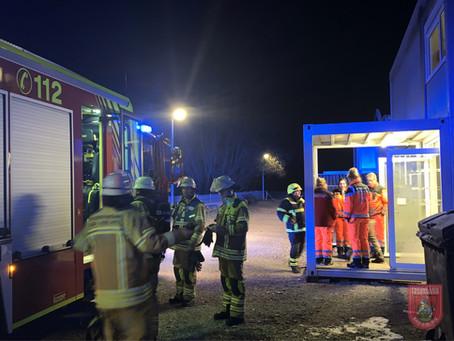 Brandalarm in Asylunterkunft