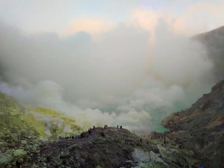 Adventure to Ijen Volcano, Java Island Indonesia