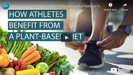 How Athletes benefit from a plant-based diet.