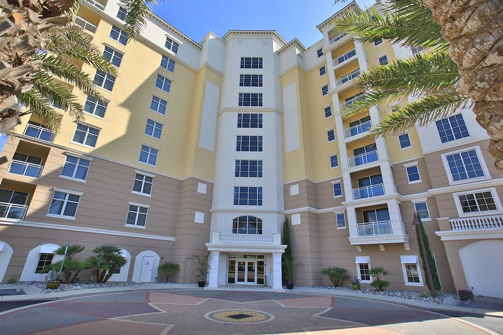 Seacrest Condominium in New Smyrna Beach, Florida