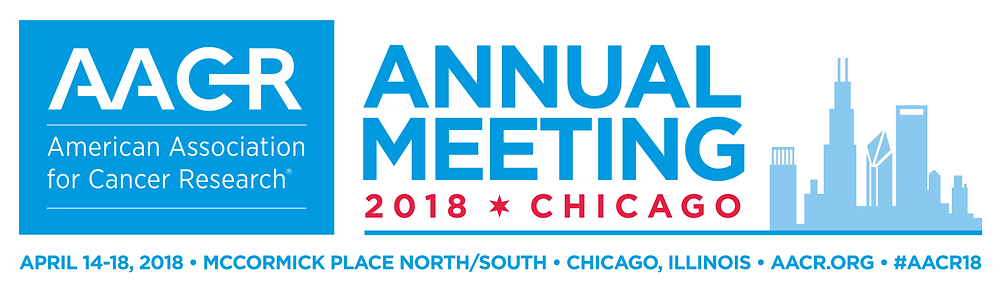 AACR Annual Meeting 2018 Chicago, Illinois