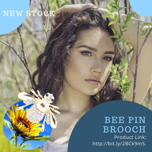 Name of product: BEE PIN BROOCH