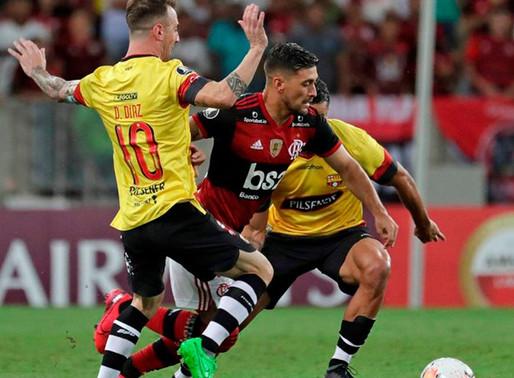 Posible suspensión del partido entre Barcelona SC. y Flamengo