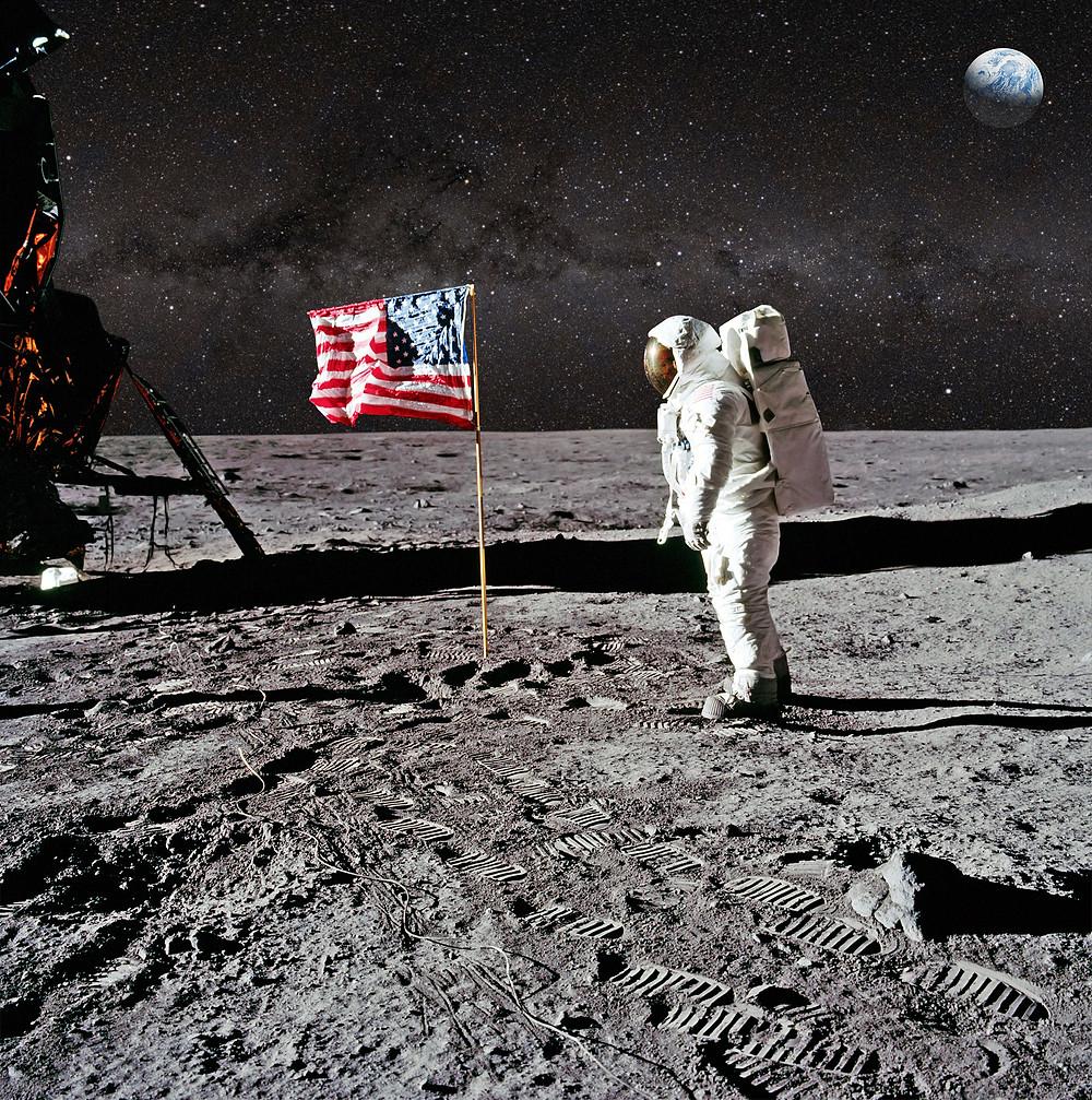 espace , lune , mission spatiale ,