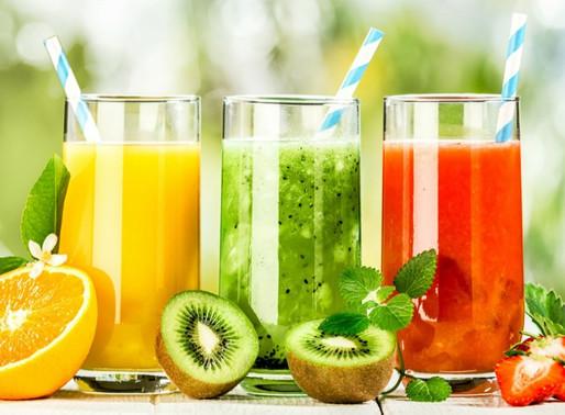 Diferentes formas de comer fruta, valores nutricionais semelhantes?
