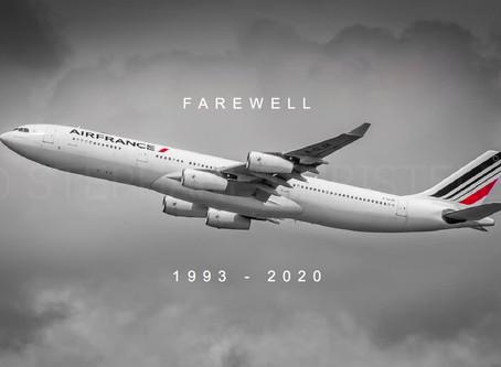 Air France # Retires A340 Fleet