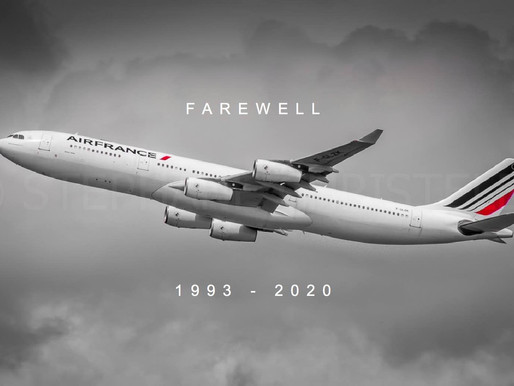 Air France # Retires A340 Fleet