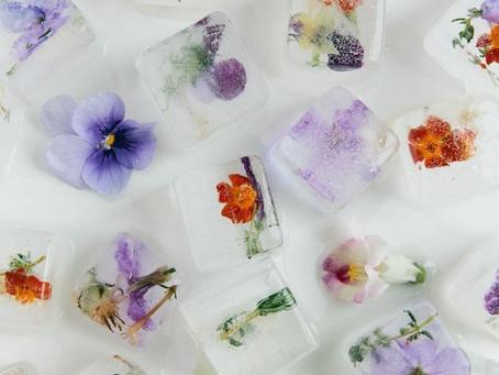 het ijsblokje dat de zomer in je glas brengt.