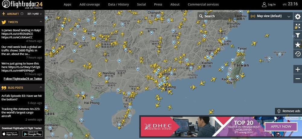 rastreo aereo vuelo aviones asia comercio internacional importacin exportacion
