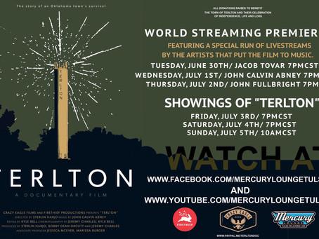 Terlton Streaming Premiere: Q&A Sterlin Harjo