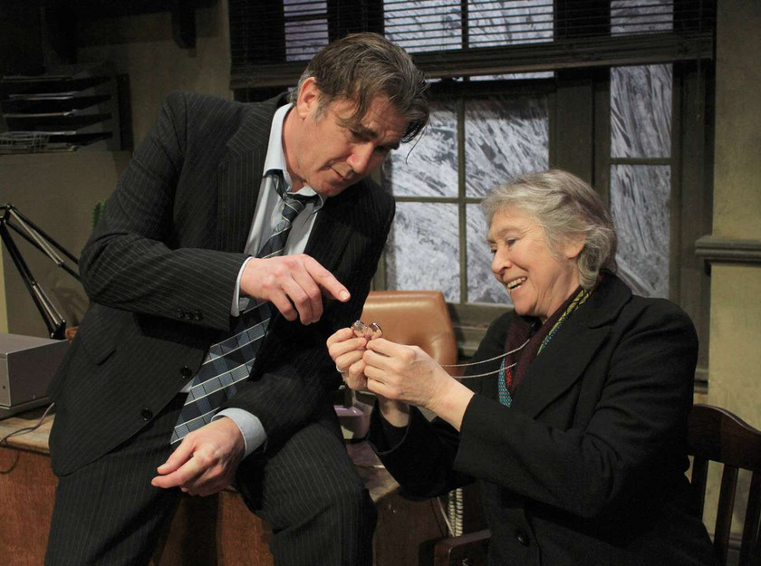 Ian Kelsey and Anne Kavanagh in Middle Ground's The Verdict