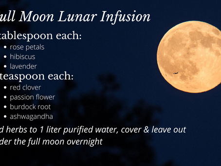 Full Moon Lunar Infusion