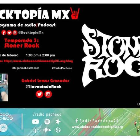 #RADIOPACHECO #ROCKTOPÍAMX Temporada 3 Programa 2 - Especial: #StonerRock #AlAire 🎧🎙🎚