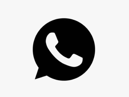 Novo modo noturno do WhatsApp traz opção de economizar bateria