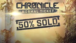 Normal Ticket 50% Sold