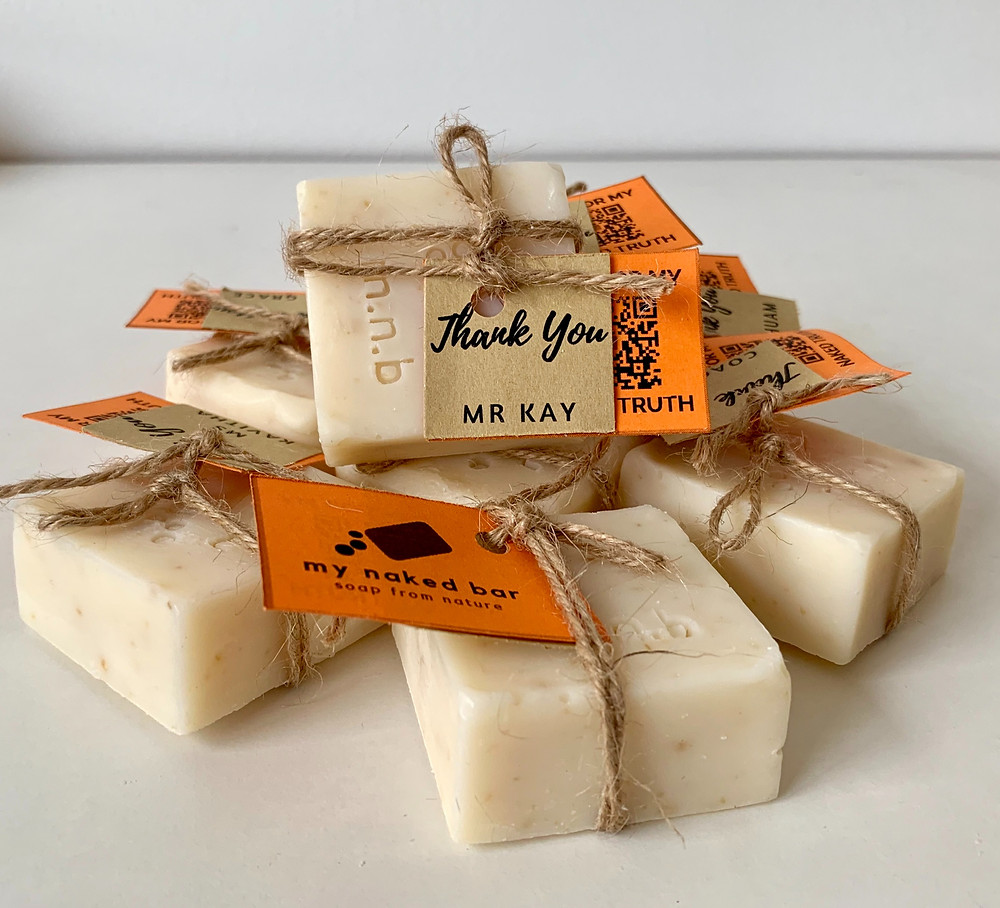 My Naked Bar Customised Handmade Soaps on Demand for All Occasions.