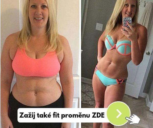 fitness Danča Hájková hubnutí