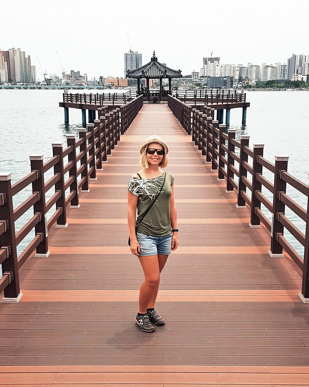 CHEONGCHOHO LAKE sokcho korea cheongchojeong pavillion
