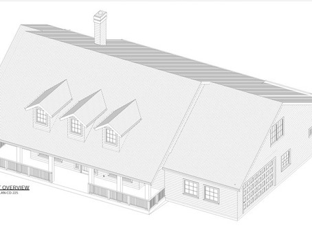 #House Plan-brn-225 Country Style