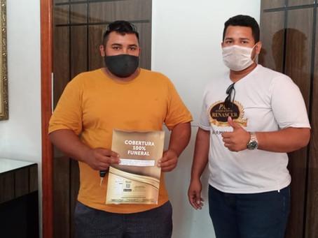 Sr. Eurides Almeida da Cidade de Nobres associou-se ao melhor plano de Assistência Familiar
