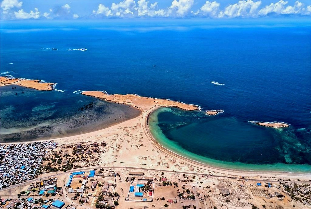 Kismayo Beach, Jubbaland Somaia.