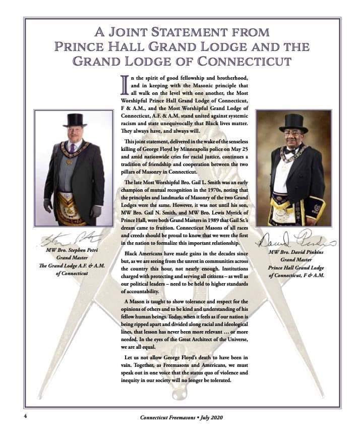 Freemasonry: - Leading from the front!!!