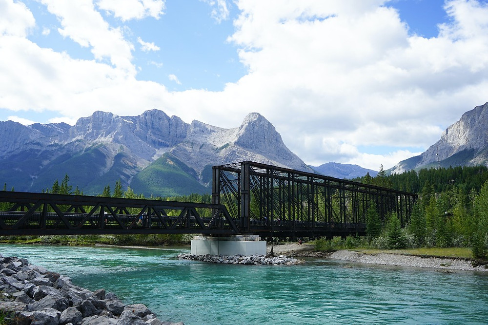 Engine Bridge over the Bow River in Canmore