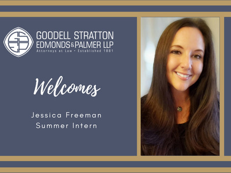 GSEP Welcomes Jessica Freeman as Summer Intern