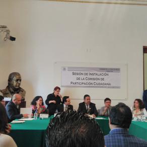 Instalación de la Comisión de Participación Ciudadana del Congreso de la Ciudad de México