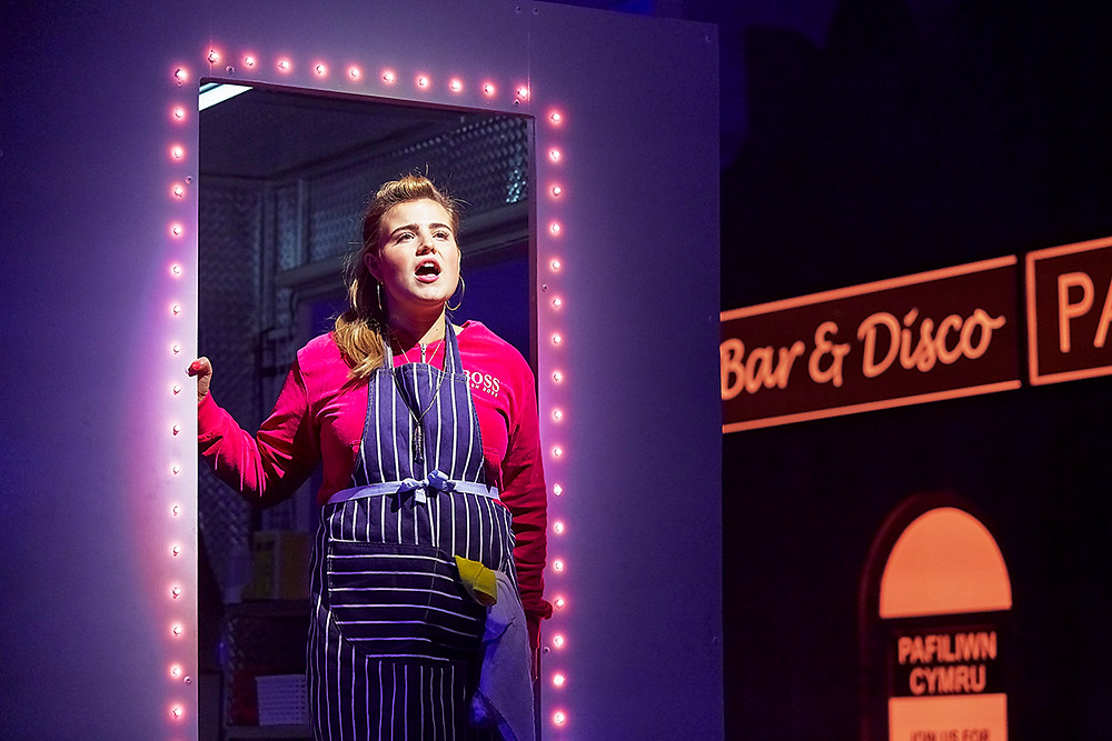 Caitlin Drake in Theatr Clwyd's Pavilion. All pics: TheOtherRichard