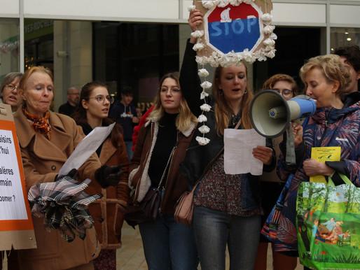 Marche pour le climat à Vichy : une mobilisation intergénérationnelle