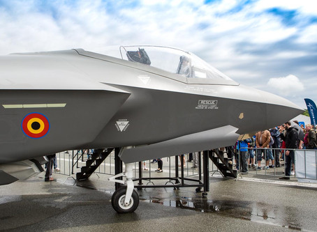 กองทัพอากาศเบลเยี่ยมจะปรับปรุงฐานทัพอากาศ 2 แห่ง เพื่อรองรับ F-35A