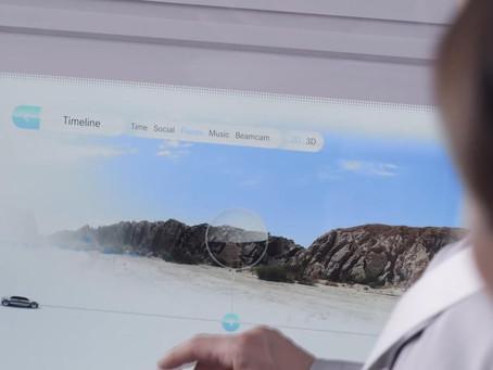 AR On Smart Car Windows