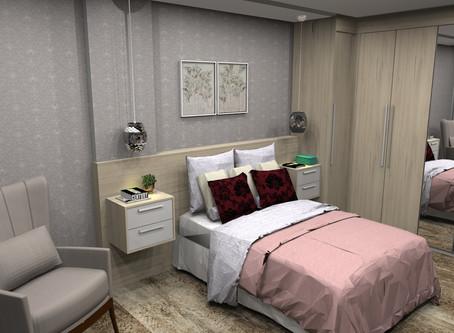 Dormitório: porque planejar? Dicas essenciais para planejar o seu.
