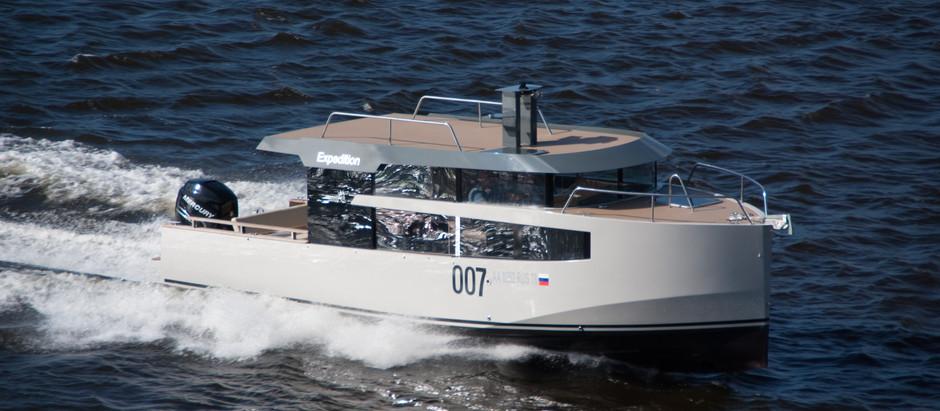 Полезные советы: Управление глиссирующим судном