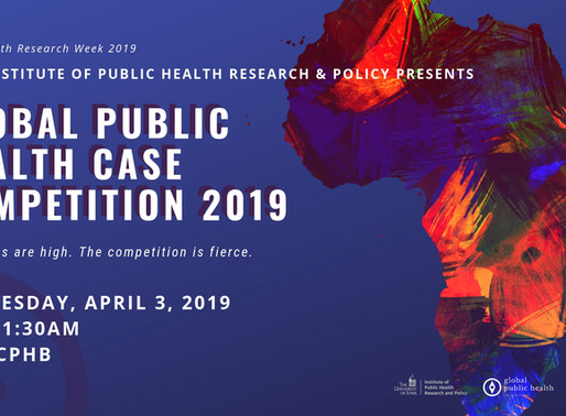 UI College of Public Health presents 2nd Annual Global Health Case Competiton