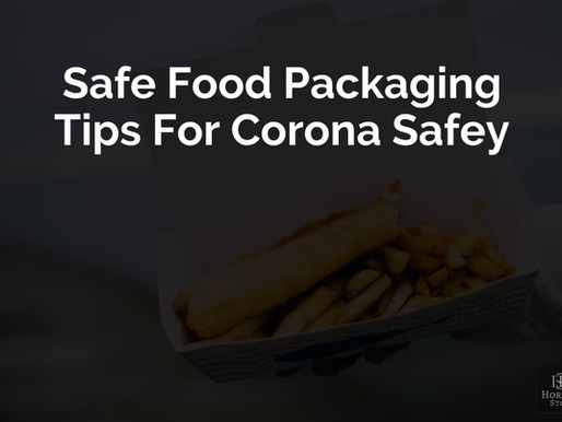 Safe Food Packaging Tips Keeping In Mind For Covid Safety
