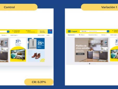 (AB Test) E-commerce/Carrito: Pop-up con notificación sobre productos en el carrito