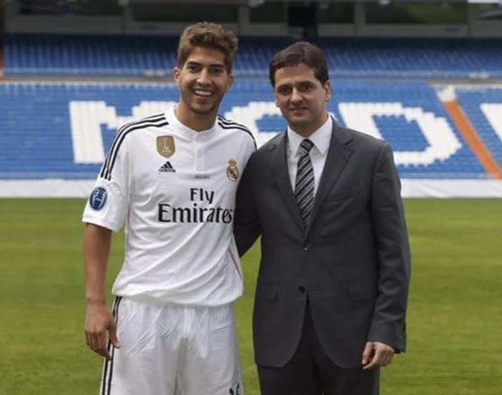 Juni Calafat with Lucas Silva