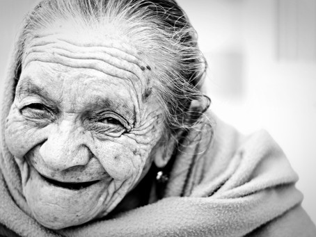 THE BEAUTY OF AGE