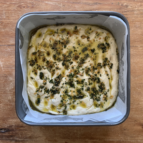 Garlic & Rosemary Focaccia Recipe