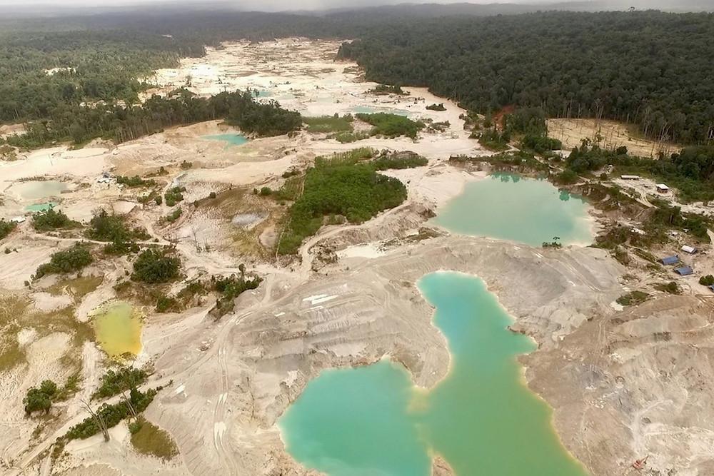 garimpo na Guiana