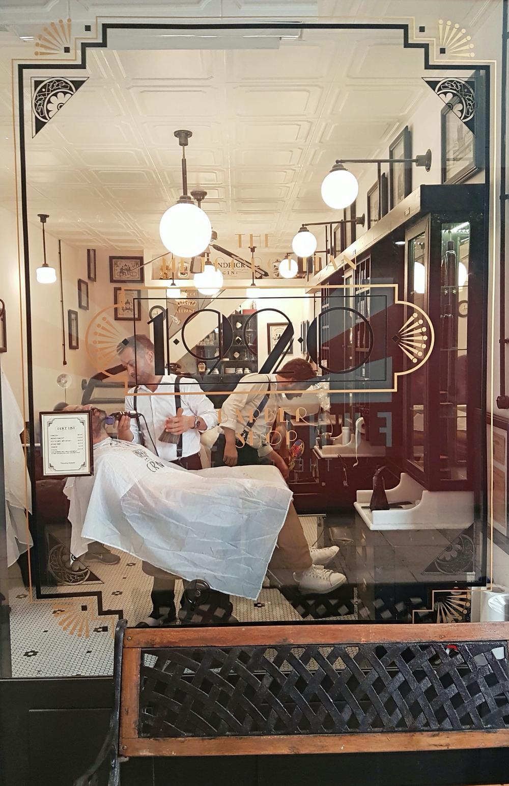 1920 The Metropolitan Barbershop