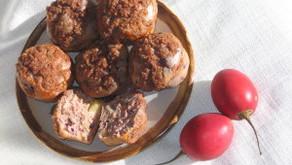 Tamarillo & Apple Muffins