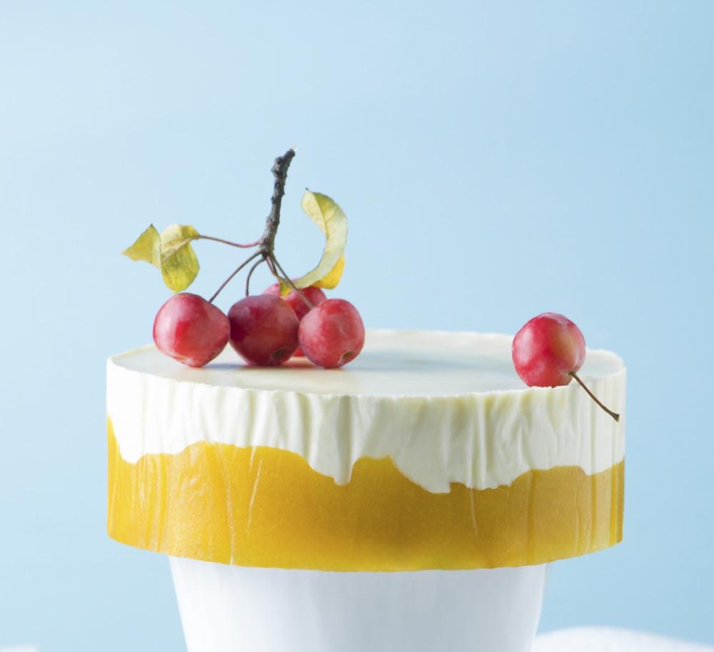 """Tortas """"Obuolių rojus"""", Alfo receptas, greitas tortas, lengvas tortas, želė tortas"""