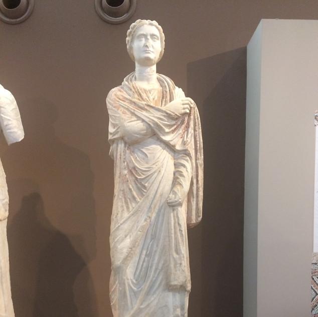 Selanik'in Hanımefendisi / Selanik Arkeoloji Müzesi