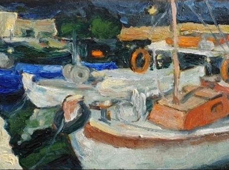 Μία στιγμή στο λιμάνι Ρεθύμνου